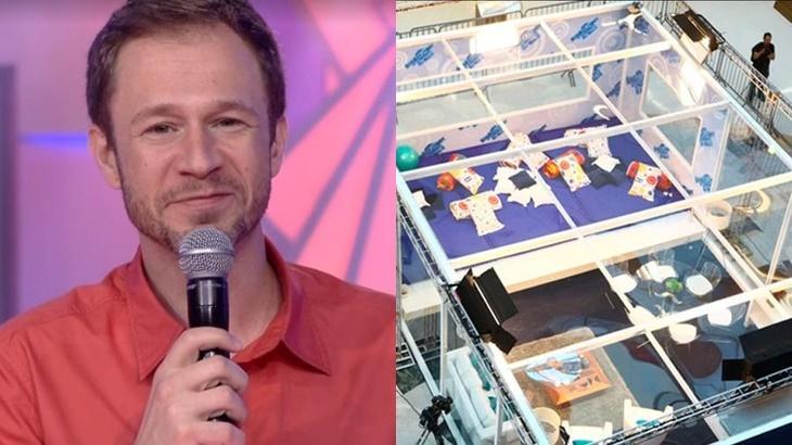 Tiago Leifert é o apresentador do reality show BBB20, que contará com a volta da casa de vidro