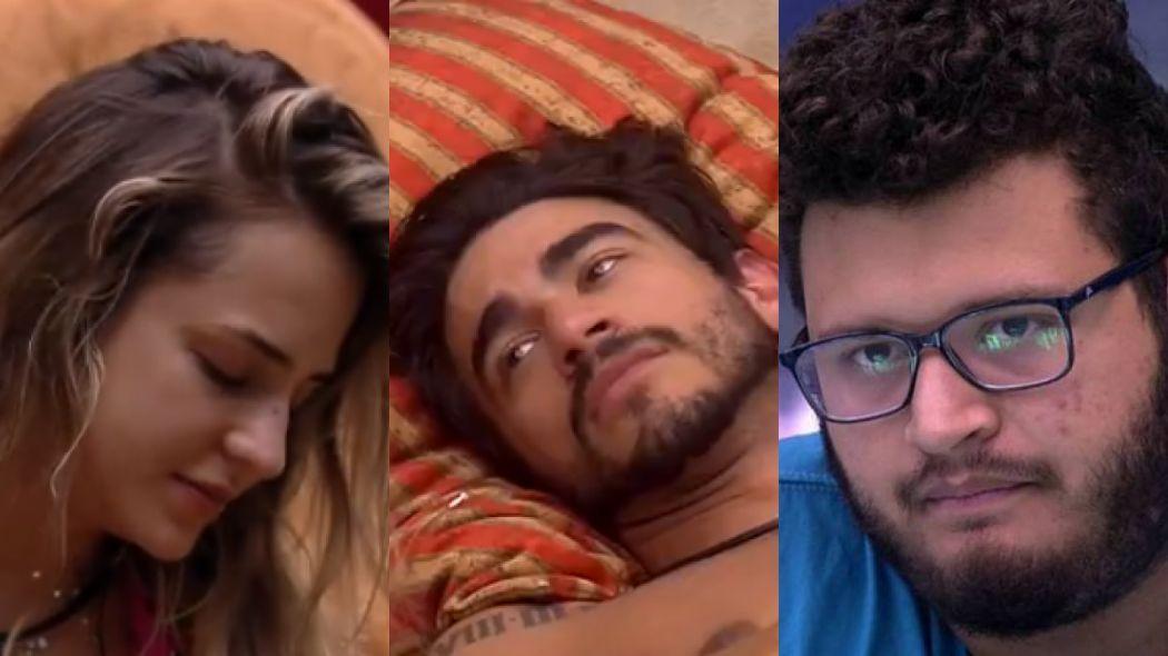 Gabi Martins, Guilherme e Victor Hugo no BBB20