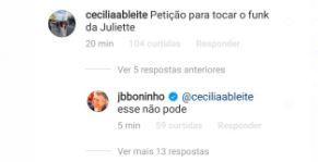 """BBB21: Fãs pedem que Dennis DJ toque funk de Juliette e Boninho avisa: """"Não pode"""""""