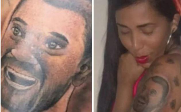 BBB21: Irmã de Gilberto faz tatuagem com o rosto do economista