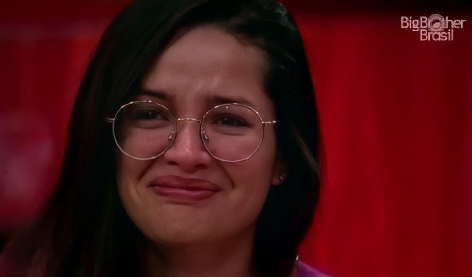 Juliette chora no BBB21