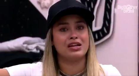 No quarto cordel, Sarah chora no BBB21