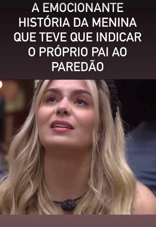 """BBB21: Discurso de Viih Tube vira meme e Tiago ironiza: """"indicou o próprio pai"""""""