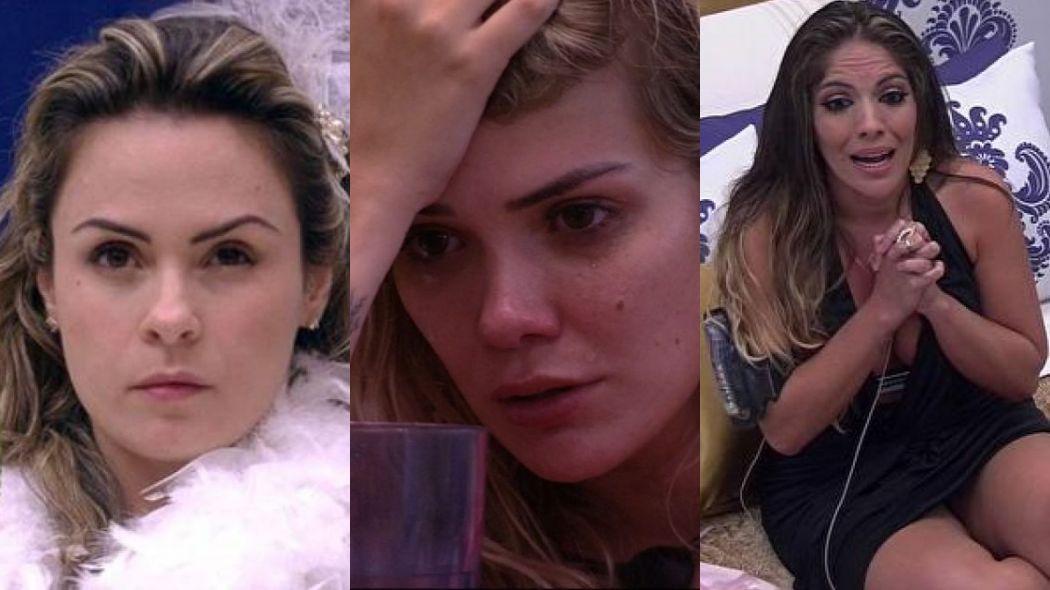 Ana Paula, Marcela e Anamara perderam o favoritismo no BBB