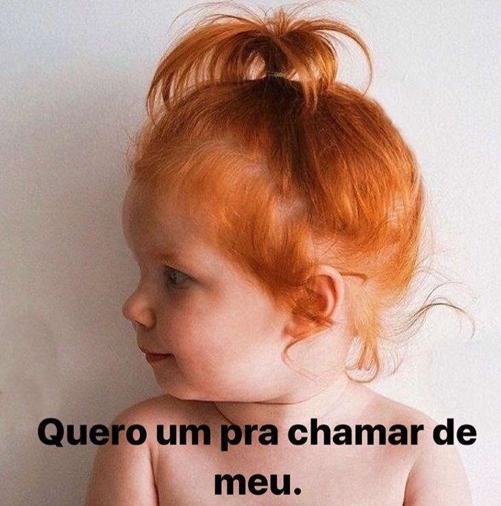 """Marina Ruy Barbosa posta foto de criança ruiva e diz: \""""quero um para chamar de meu\"""""""