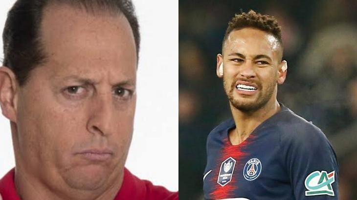 Benjamin Back e Neymar