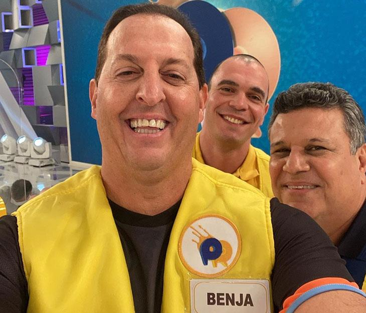 """Benjamin Back realiza sonho de trabalhar para Silvio Santos: \""""SBT é emissora raiz\"""""""
