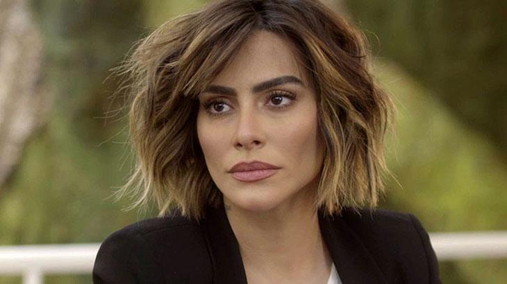 A atriz Cleo como Betina na novela O Tempo Não Para