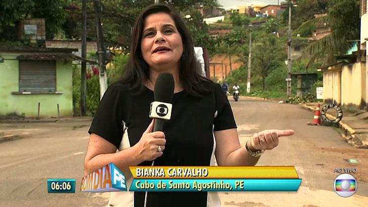 Erro no GC troca sobrenome de repórter por palavrão em jornal da Globo