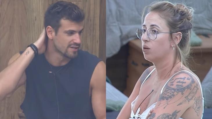 Bifão gritou e mandou recado para Guilherme Leão no reality show A Fazenda 2019