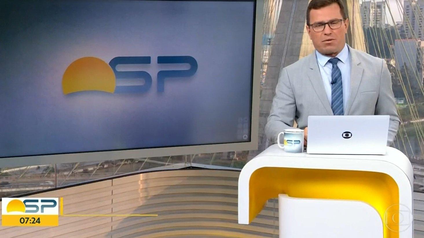 Rodrigo Bocardi no Bom Dia SP