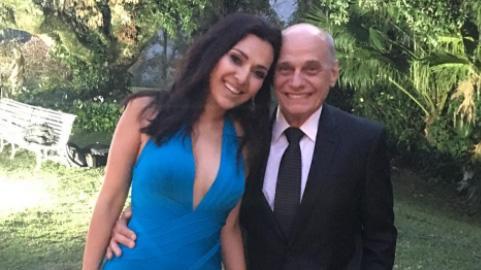 Ricardo Boechat e Veruska