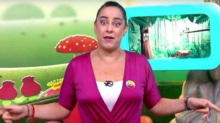 Silvia Abravanel no Bom Dia & Cia