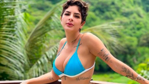 """De Férias com o Ex: Lary Bottino admite exagero em briga com Tarso Brant: \""""Tinha bebido\"""""""