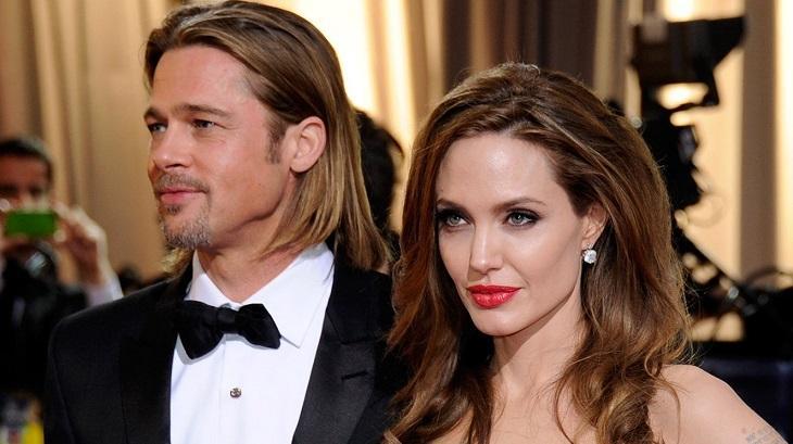 Angelina Jolie e Brad Pitt juntos