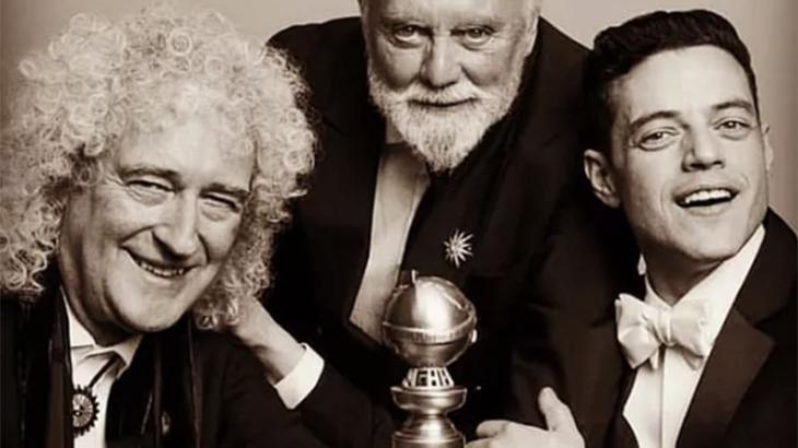 Bohemian Rhapsody levou o Globo de Ouro de Melhor Filme Dramático