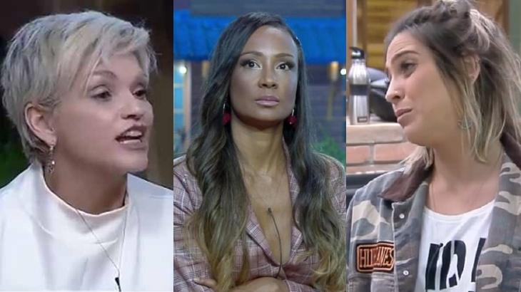 Primeira eliminada do reality show abriu o jogo sobre briga com Andréa Nóbrega nos bastidores de A Fazenda 2019.