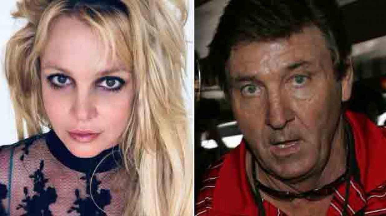 Britney Spears e seu pai Jamie