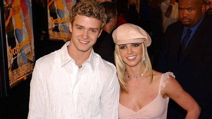 Justin Timberlake e Britney Spears no período em que namoravam