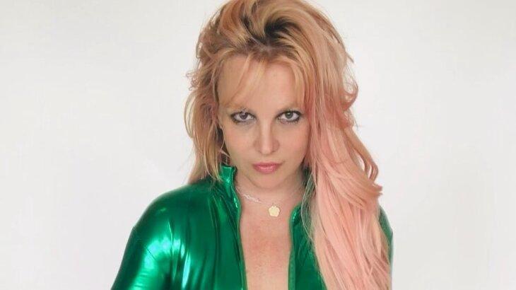 Britney Spears posada para foto