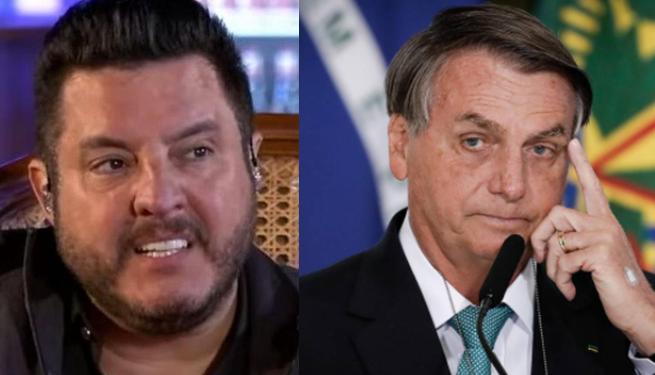 Bruno e Jair Bolsonaro