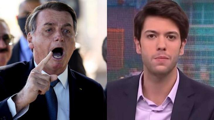 Foto montagem de Jair Bolsonaro e Caio Coppolla