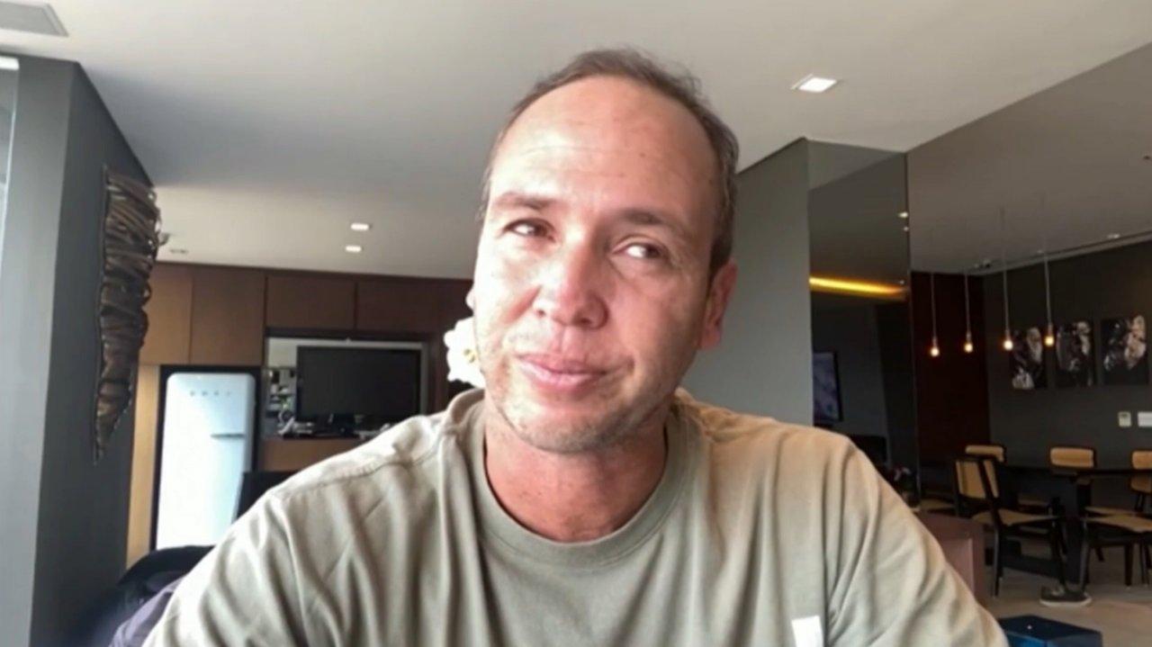 Caio Ribeiro fala do tratamento contra um câncer em entrevista ao Globo Esporte