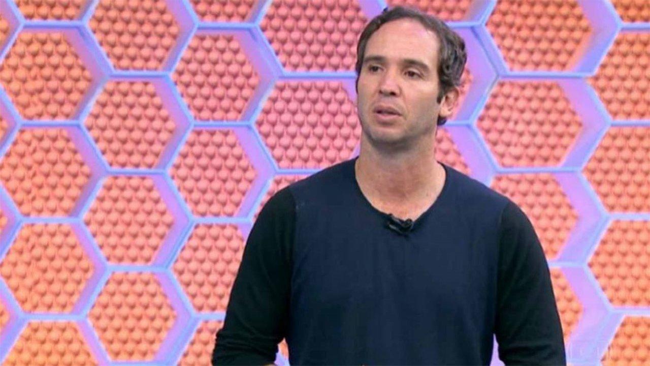 Caio Ribeiro no estúdio do Globo Esporte