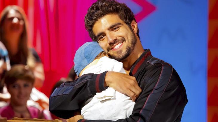 Caio Castro participa do Programa da Maisa