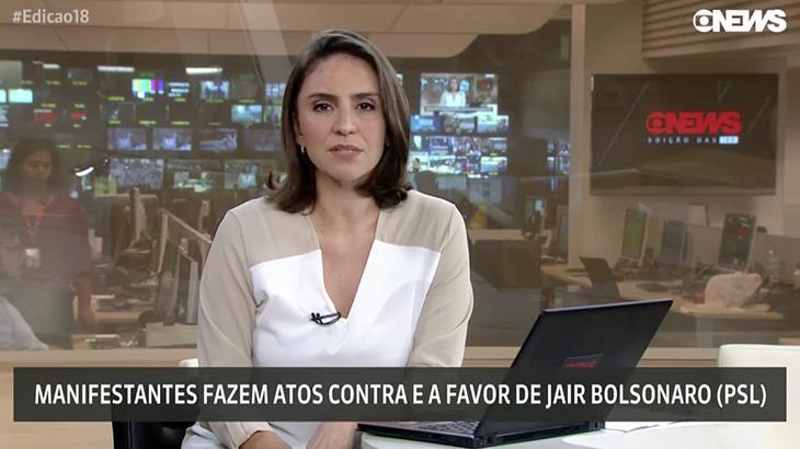 Emissoras fazem cobertura tímida de protestos de mulheres contra Bolsonaro