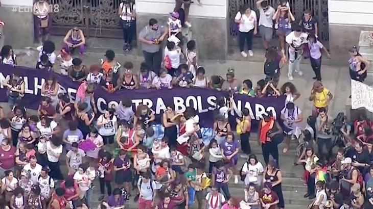 Campanha contra Jair Bolsonaro