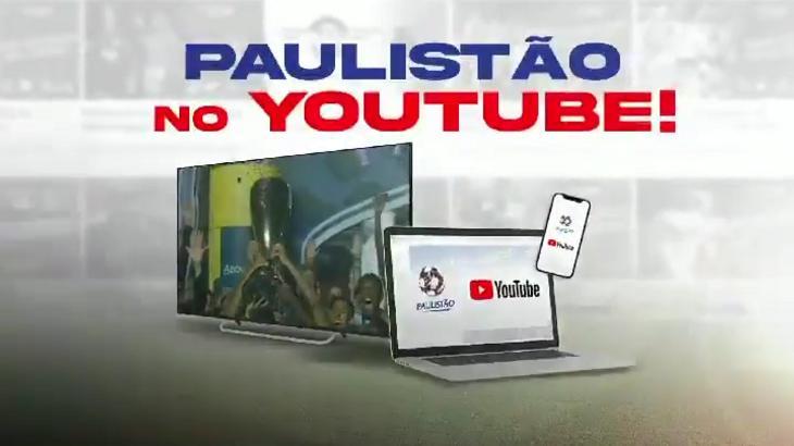 Divulgação do Campeonato Paulista 2022 no YouTube