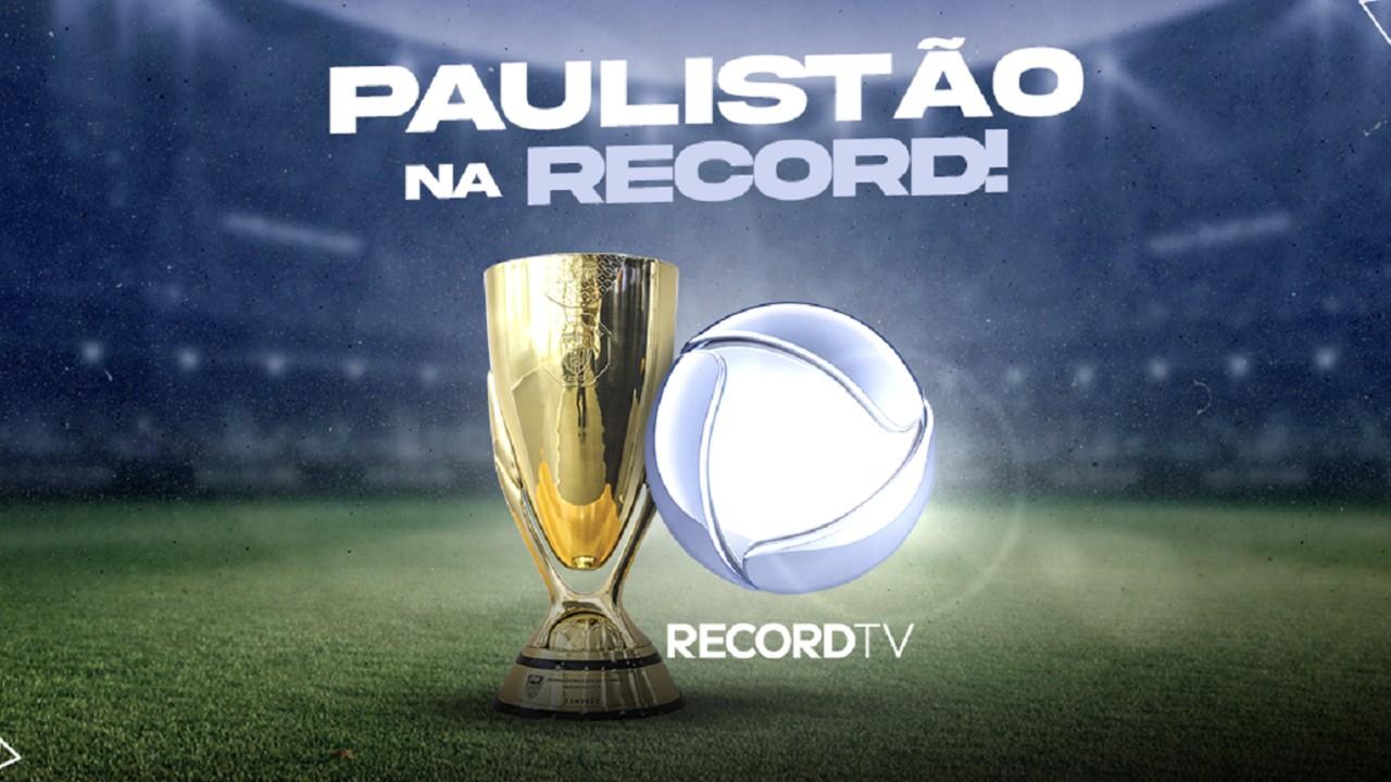Divulgação do Campeonato Paulista na Record
