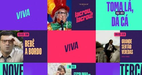 Canal Viva ganha novo logotipo e pacote gráfico