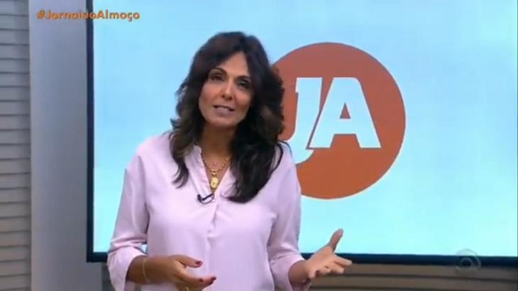 Cristina Ranzolin no Jornal do Almoço do RBS TV