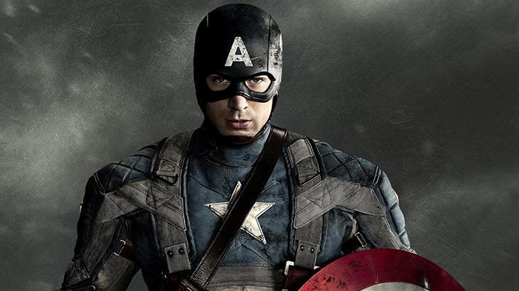 Chris Evans como Capitão América