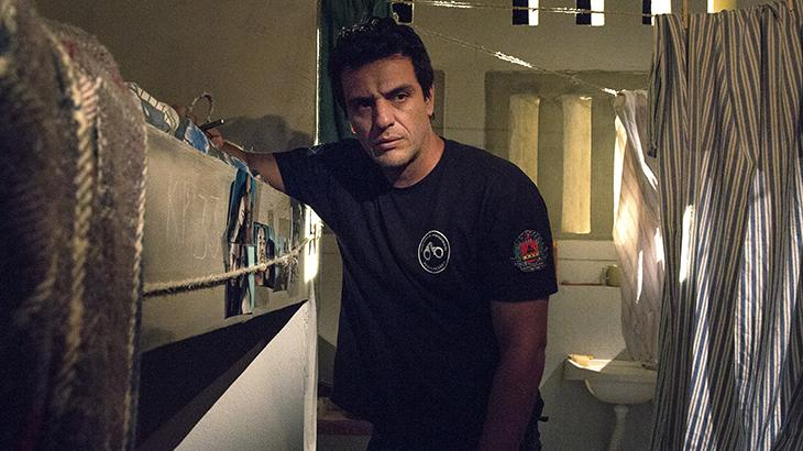 """Rodrigo Lombardi em """"Carcereiros"""""""