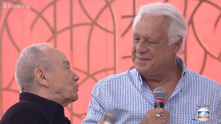 Stênio Garcia e Antônio Fagundes