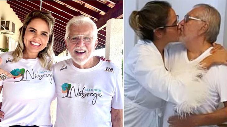 Esposa de Carlos Alberto diz que história do casal foi construída com amor e respeito