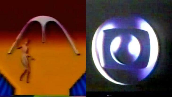 Logo do carnaval da Manchete e símbolo da Globo em 1984