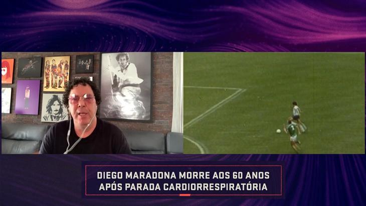 Casagrande no Seleção SporTV