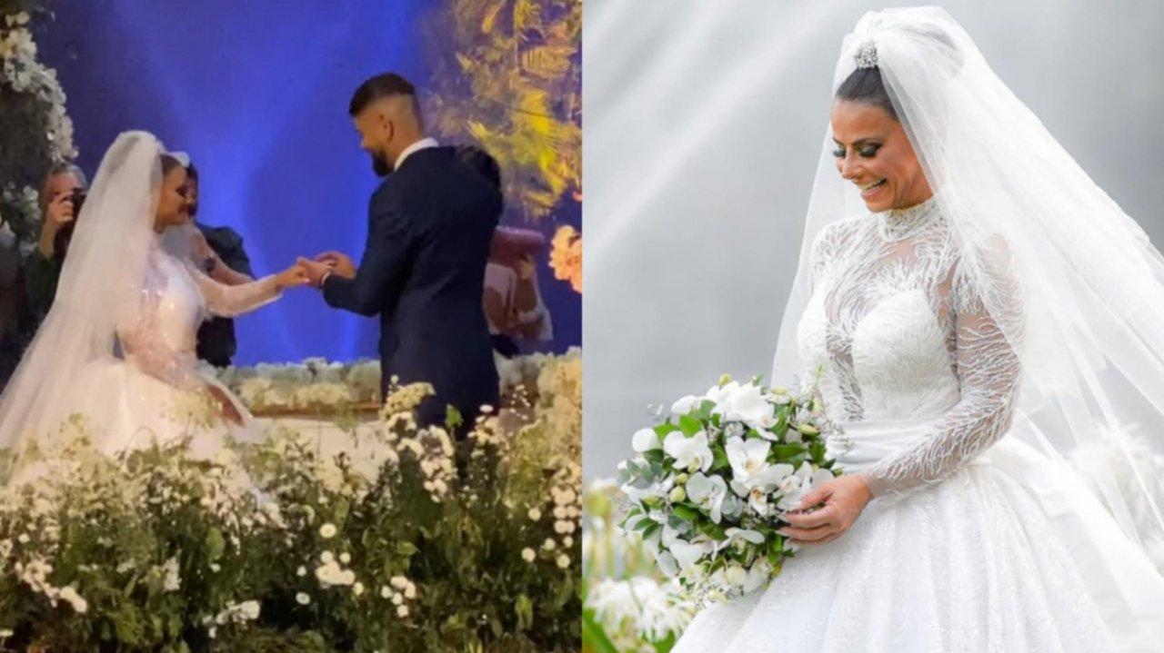 Casamento de Viviane Araújo com Guilherme Militão