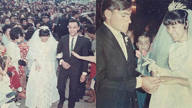 Casal formado por Silvio Santos em 1967 está junto até hoje