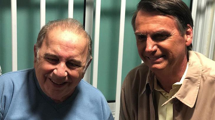Castrinho e Jair Bolsonaro