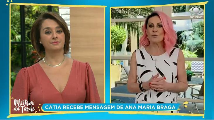 Ana Maria Braga e Cátia Fonseca no Melhor da Tarde