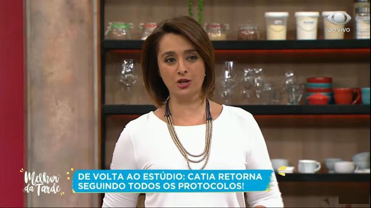 Catia Fonseca no Melhor da Tarde