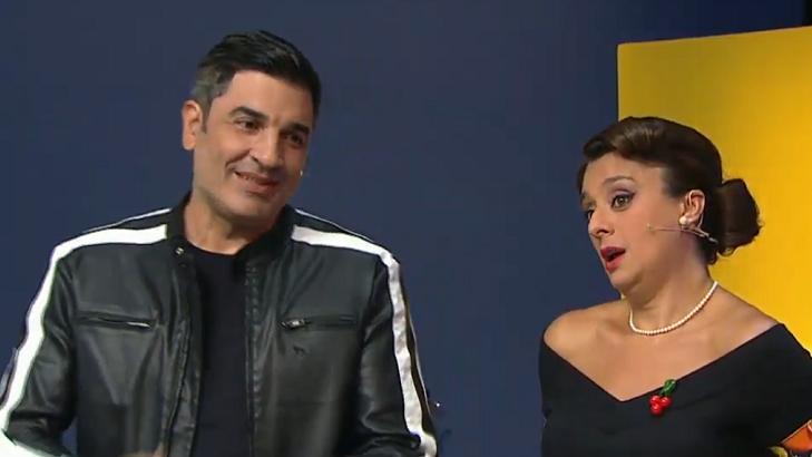 Cátia Fonseca ao lado de Edu Guedes