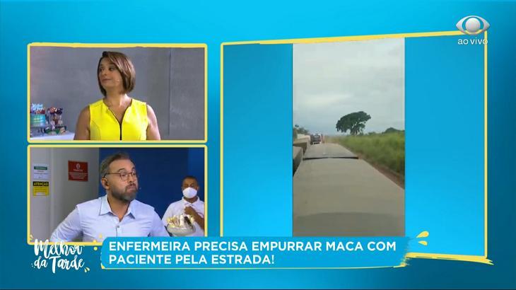 """Cátia Fonseca se revolta com falsa aplicação de vacina em idosa: \""""Vai pro inferno\"""""""