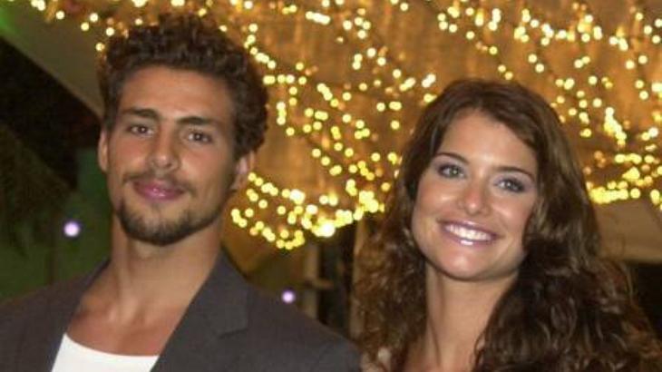 Alinne Moraes e Cauã Reymond