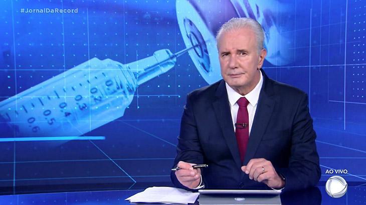 Celso Freitas retorna ao Jornal da Record